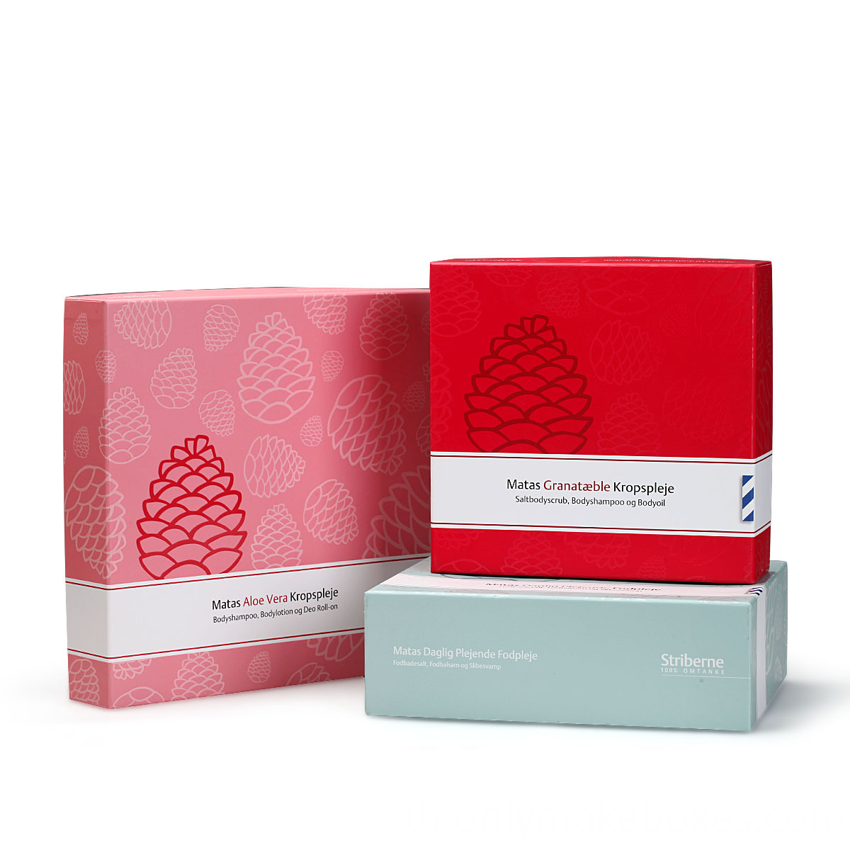skin care box packaging
